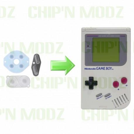 Réparation boutons Gameboy - Remplacement caoutchouc interneTout modèles