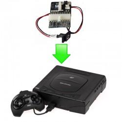 """Installation alimentation """"SAT-PSU"""" Sega Saturn"""