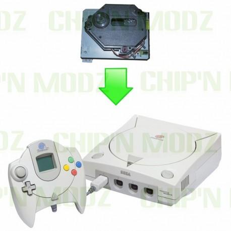 Remplacement lecteur GD-ROM Dreamcast
