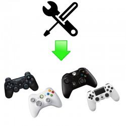 Forfait réparation 19 manettes PS3/PS4/Xbox One