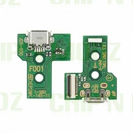 JDS-030 - Connecteur micro-USB + Led - DualShock 4 (PS4)