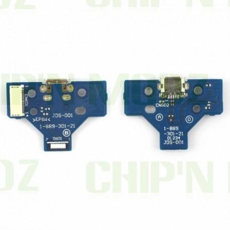JDS-001 - Connecteur charge + Led - DualShock 4 (PS4)