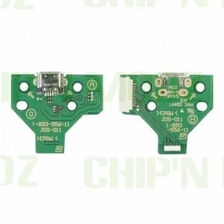 JDS-011 - Connecteur charge + Led - DualShock 4 (PS4)