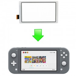 Réparation vitre Tactile - SWITCH LITE