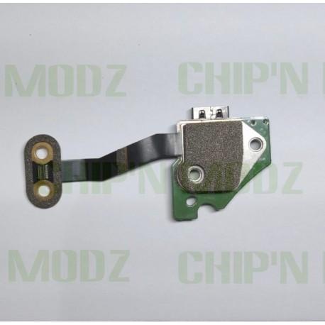 PCB port USB + bouton synchro + nappe - Xbox One X