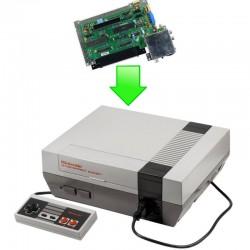 Remplacement carte mère Nintendo NES