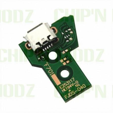 JDS-040 - Connecteur micro-USB + Led - DualShock 4 (PS4)