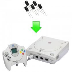 Remplacement condensateurs GD-ROM Dreamcast