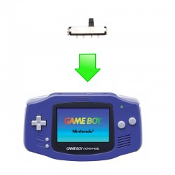Réparation bouton Power Gameboy Advance / GBA SP