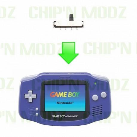 Réparation bouton Power Gameboy Advance / GBA SP