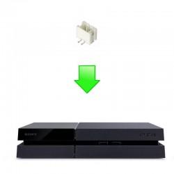 Réparation connecteur alimentation carte mère PS4