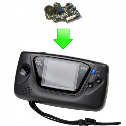Remplacement carte son - Sega Gamegear