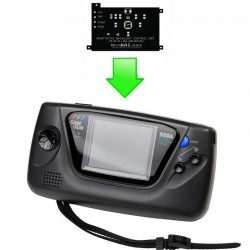 Installation Adaptative BackLight GameGear - Retro-éclairage à LED