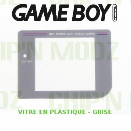 Vitre Gameboy, Grise - Plastique - Auto-Adhésive