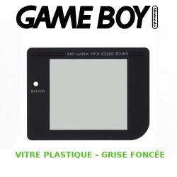 Vitre Gameboy, Grise Foncée - Plastique - Auto-Adhésive