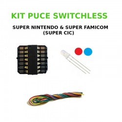 Kit Switchless Super Nintendo / Super Famicom - Super CIC