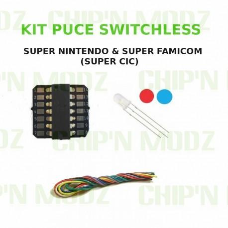 Kit Switchless Super Nintendo / Super Famicom