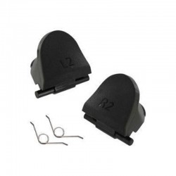 Gâchettes L2 / R2 Manette PS4 v1 noir - Avec ressorts