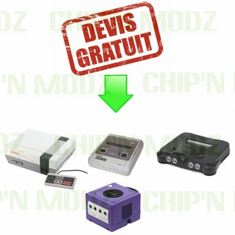 Devis gratuit - NES, SNES, N64, Gamecube