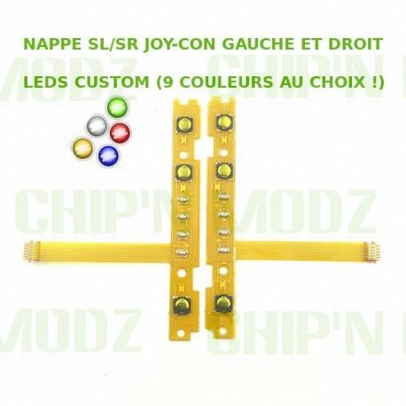 Nappes SL/SR - Leds custom (couleur au choix !)