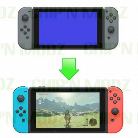 Réparation Switch écran bleu