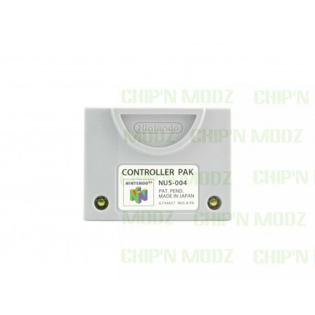 Carte mémoire officielle Nintendo 64 - NUS-004