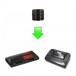Installation Mod Switchless Master System - Dézonnage intégral & Jeux PAL en 60Hz