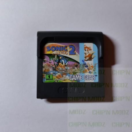 Sonic The Hedgehog 2 - Gamegear - En loose