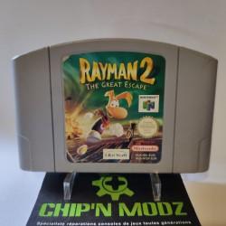 Rayman 2 - En loose - Nintendo 64, Version Française (PAL) - Bon état