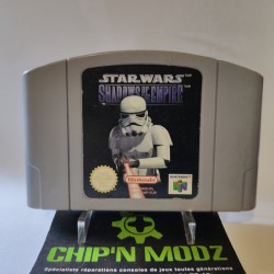 Star Wars shadows of the empire - En loose - Nintendo 64, Version Française (PAL) - Bon état