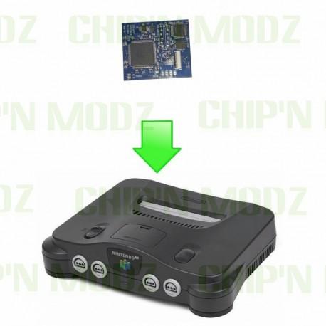 "Dézonage Nintendo 64 - Installation ""Ultra Pif"""