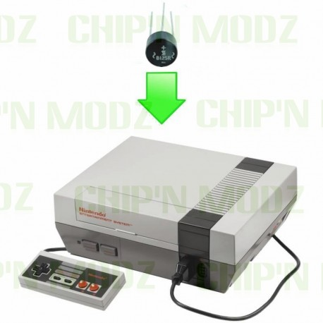 Réparation Alimentation carte mère Nintendo NES (Pont de diode)