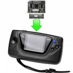 Installation écran LCD Magic Screen GameGear (RetroKai)