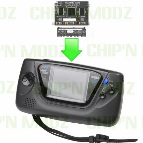 Installation écran LCD Magic Screen GameGear - Écran LCD nouvelle génération !