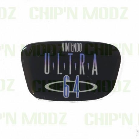 """Faceplate / Logo """"Ultra 64"""" pour Nintendo 64"""