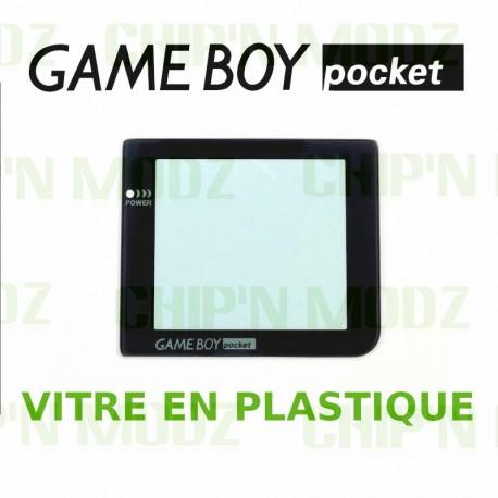 Vitre Gameboy Pocket - Plastique - Auto-Adhésive
