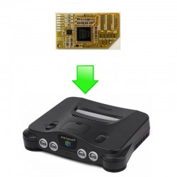 """Installation mod RGB """"N64 RGB"""" (Tim Worthington)"""