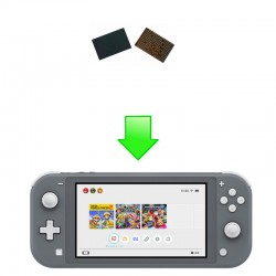 Remplacement Chipset WIFI - Switch Lite
