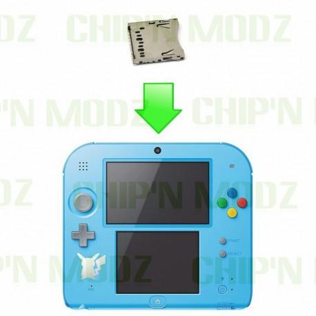 Réparation Port / Lecteur carte SD - Nintendo 2DS / New2DS XL