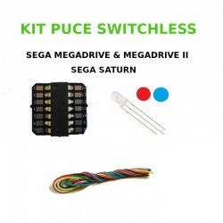 Kit Puce Switchless Megadrive / Megadrive II / Saturn