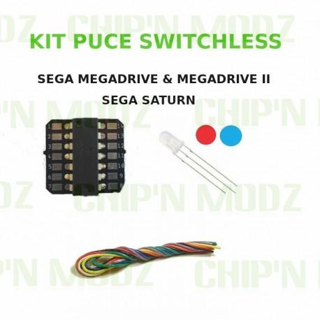 Kit Switchless Megadrive / Megadrive II