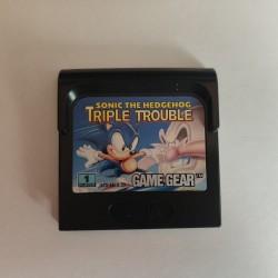 Sonic Triple Trouble - Gamegear - En loose