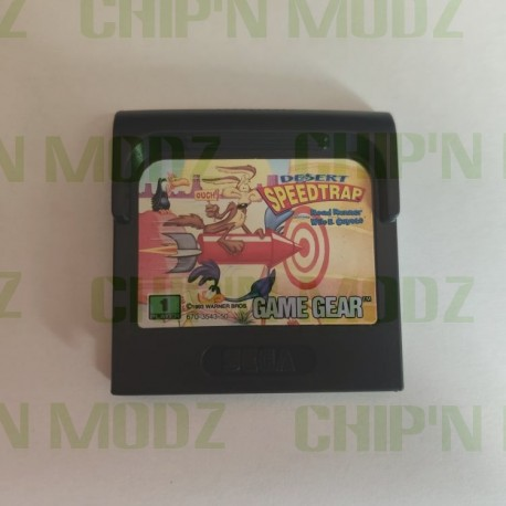 Desert Speed Trap - Gamegear - En loose