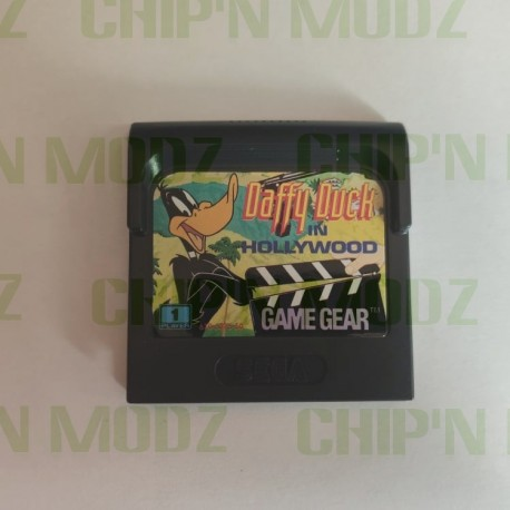 Daffy Duck in Hollywood- Gamegear - En loose