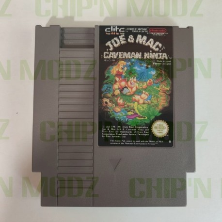 Joe & Mac: Caveman Ninja - Version FRA - En loose