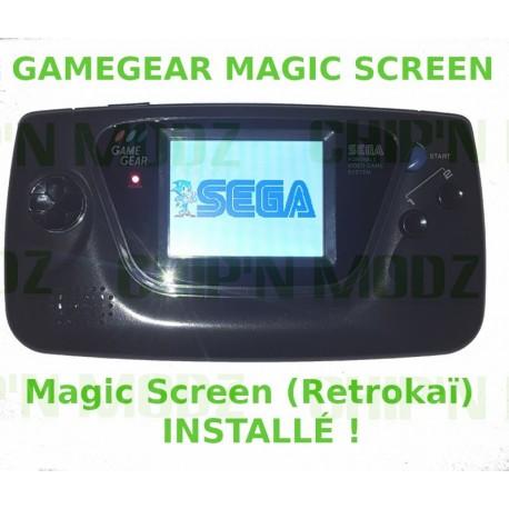 "Gamegear ""Mod LCD McWill"" - Condensateurs neufs"