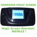 """Gamegear """"Mod MagicScreen"""" - Condensateurs neufs"""