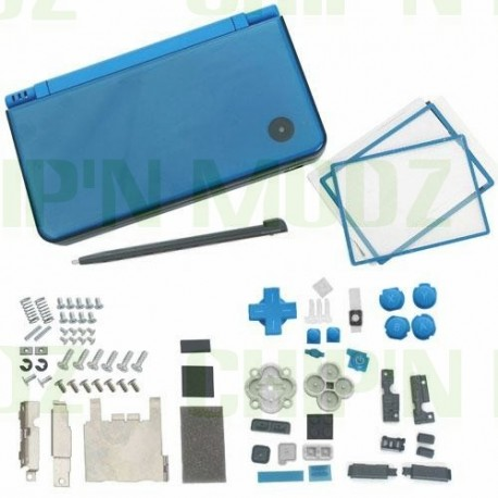 Coque complète DSi XL Bleue