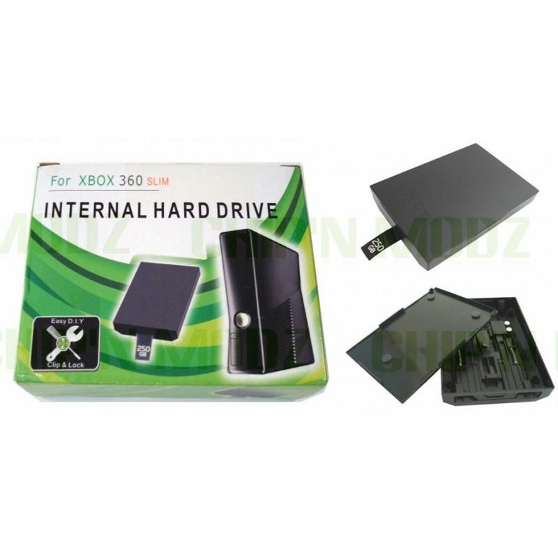 xbox slim installer le disque dur