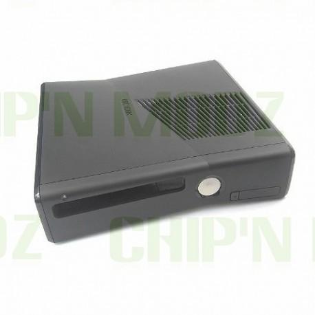 Coque Noire Mate Xbox 360 Slim - reconditionnée